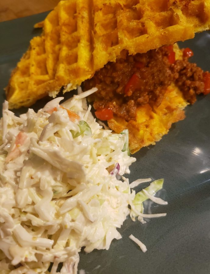 Chaffle Sloppy Joes