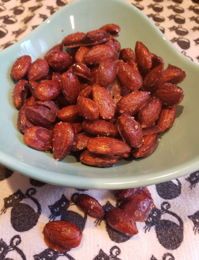 Keto Candied Almonds