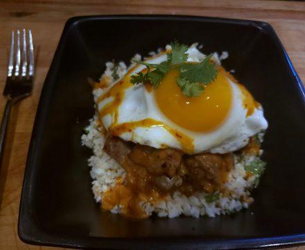 Korean Keto Loco Moco